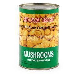 Red Boat Brand Jamur Champignons Pilihan Utuh
