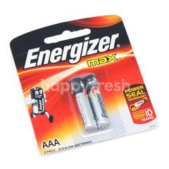 Energizer Max AAA Alkaline Batteries (2 Pieces)