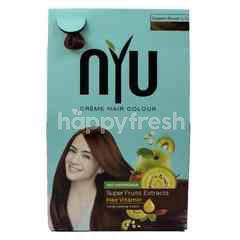 NYU NYU Crème Hair Colour Coppery Brown