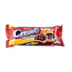Cream-O Crunchy Cookies With Caramel & Chocolate