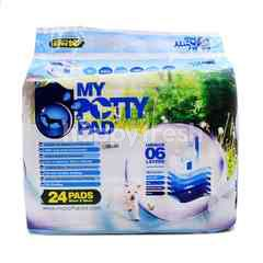 My Potty Pad Training Pad For Dog 24 Pieces