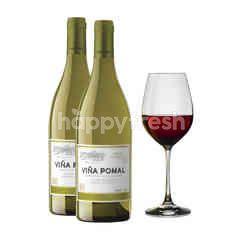 Vina Pomal Blanco Viura Malvacia 2 Bottles Get Riedel Glass Free