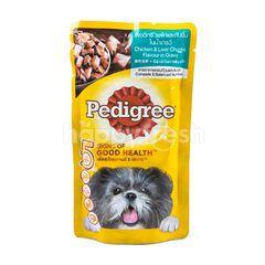 Pedigree Chicken & Liver Chunks Flavour In Gravy Dog Food