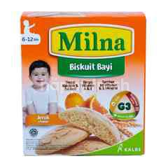 Milna Baby Biscuits Orange