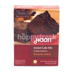 Haan Instant Cake Mix Brownies Kukus