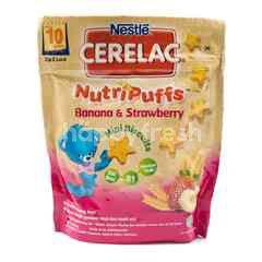 Cerelac NutriPuffs Biskuit Mini Rasa Pisang dan Jeruk
