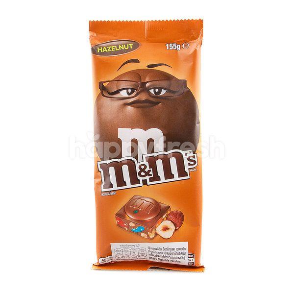 M M Hazelnut Milk Chocolate Bar Happyfresh
