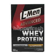 L-Men Advanced Formula Whey Protein Powder Milk Cappuccino Flavor