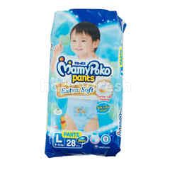 MamyPoko Extra Soft Baby Disposable Pants Diaper L
