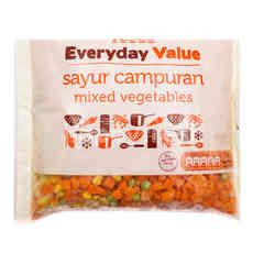 Tesco Everyday Value - Mixed Vegetables