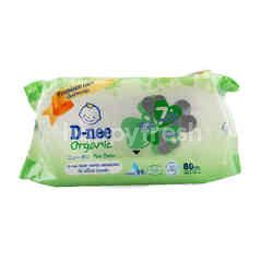 D-Nee Organic Baby Wipes Newborn