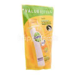 Dettol Sabun Badan Anti Bakterial Kesegaran Citrus Ph-Balanced