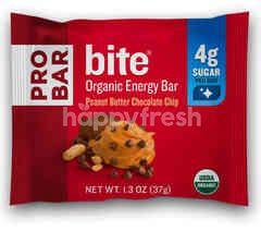 Pro Bar Bite Organic Energy Bar Peanut Butter Chocolate Chip