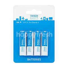 Tesco AA4 1.5V Batteries