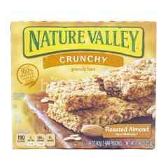 Nature Valley Crunchy Granola Bars Almond Panggang