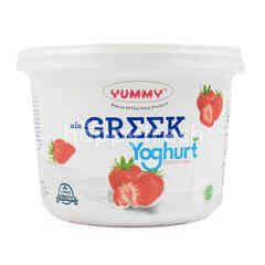 Yummy Yogurt Greek Rasa Stroberi