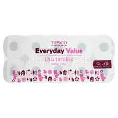 Tesco Everyday Value Toilet Rolls (10 X 150 Sheets)