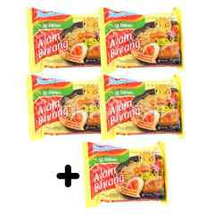 Indomie 5 Pieces Instant Chicken Onion Noodle 85g