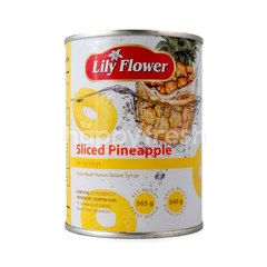 Lily Flower Sliced Pineapple in Syrup