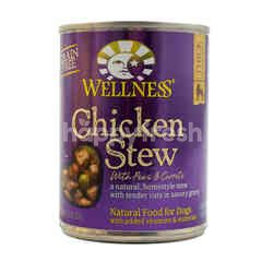 Wellness Chicken Stew with Peas and Carrots Dog Food