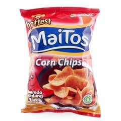 Mr. Hottest Maitos Corn Chips Balado Padang