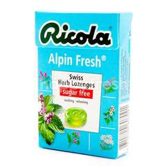 Ricola Sugar Free Alpin Fresh