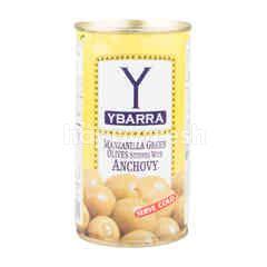 ยะบาร์ร่า มะกอกเขียวสอดไส้แอนโชวี่ในน้ำเกลือ