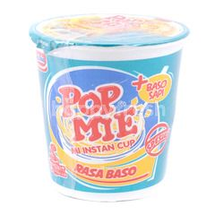 Pop Mie Special Meatball Instant Cup Noodles