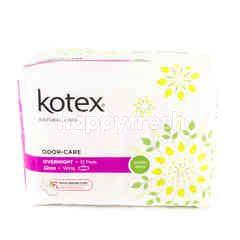 KOTEX Odour-Care Overnight - 32cm - Wing - 12 Pads