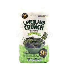 Manjun Laverland Crunch Wasabi Korean Seaweed