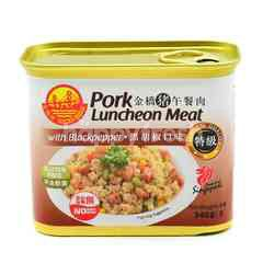 Golden Bridge Pork Luncheon Meat (Black Pepper)