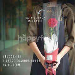 ฮาร์ทอิส กุหลาบดอกใหญ่ รักเดียว 1