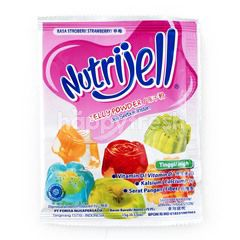 Nutrijell Powdered Jelly Strawberry