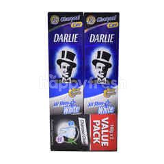 Darlie All Shiny White Fluoride Toothpaste (2 Packs)