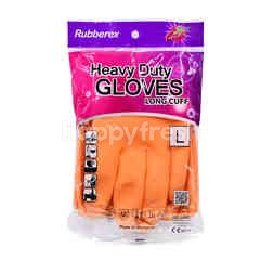 RUBBEREX Heavy Duty Gloves - L