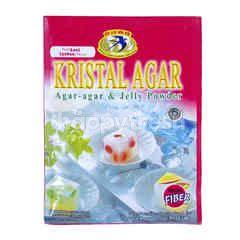 Swallow Globe Brand Kristal Agar Strawberry