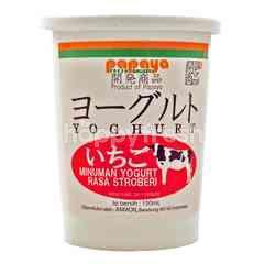 Kaihatsu Minuman Yogurt Rasa Stroberi