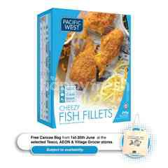 Pacific West Fish Fillets - Cheezy