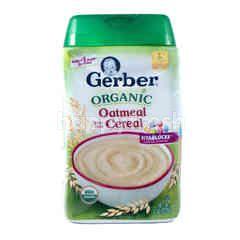 Gerber Organic Oatmeal Cereal