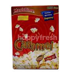 Magic Time Caramel Premium Microwave Popcorn (3 Bags)