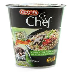 Mamee Chef Spicy Chicken Shiitake Flavour Noodle