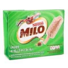 ไมโล ไอศกรีม รสช็อกโกแลตมอลต์ ผสมชิ้นช็อกโกแลต