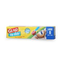 Glad Zip Slide 30cm x 30cm Large