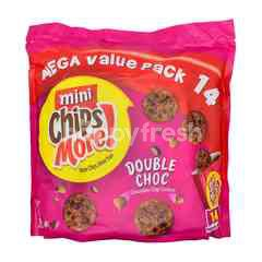 Chipsmore Mini Double Chocolate Chip Cookies Mega Value Pack 14