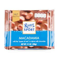Ritter Sport Milk Chocolate With Macadamia