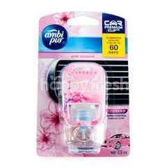 Ambi Pur Car Freshener Premium Clip Pink Blossom