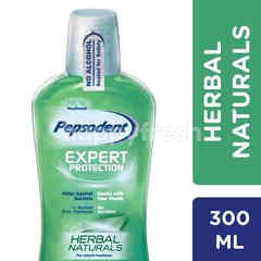 Pepsodent Expert Protection Mouthwash Sensitive Herbal Naturals