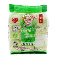 Gemie Pandan Lotus Mini Buns (9 Pieces)
