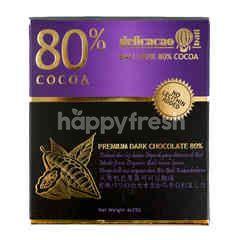 Delicacao Bali Dark Chocolate 80% Cocoa