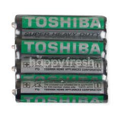 Toshiba Super Heavy Duty Battery R03UG AAA